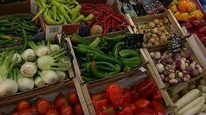 étal légumes
